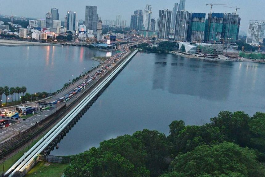 The issue of water was among those discussed during Malaysian Foreign Minister Saifuddin Abdullah's visit to Singapore.