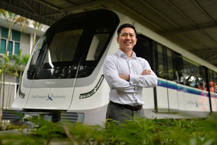 Mr Alex Ang enjoys the professional challenges that come with his job.