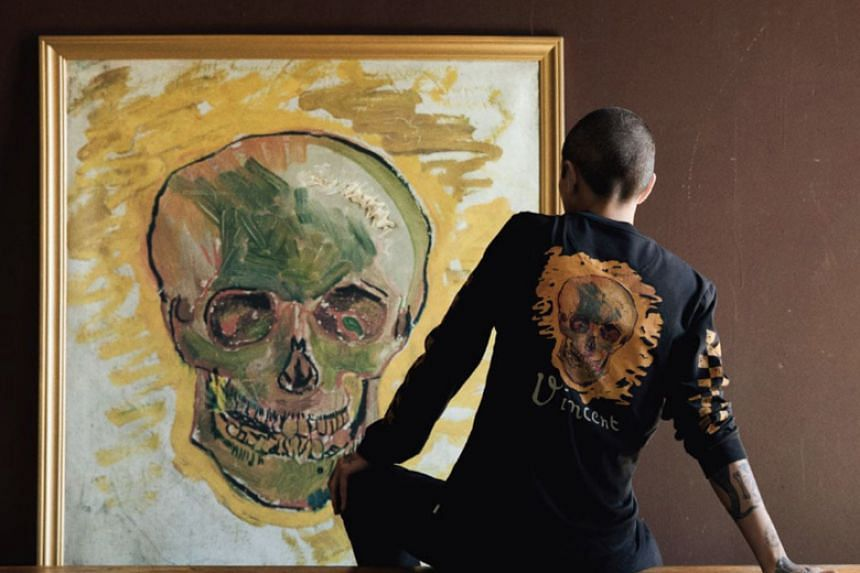 The limited-edition series will feature some of the artist's iconic collections, including Skull (1887), Almond Blossom (1890), Sunflowers (1889) and van Gogh's Self-Portrait as a Painter (1887-1888).