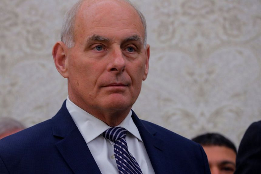 Kelly (above) declined Trump's initial request to stick with him through 2024 if he's reelected.