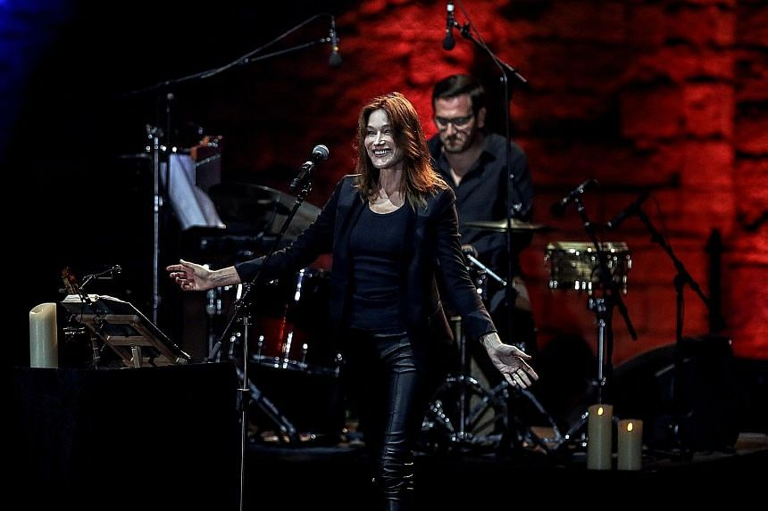 Carla Bruni never stopped pursuing her passion - music - even when she had official duties to perform as the wife of Mr Nicolas Sarkozy, the president of France between 2007 and 2012. On Monday, Bruni, who has recorded several albums and sung for Sou