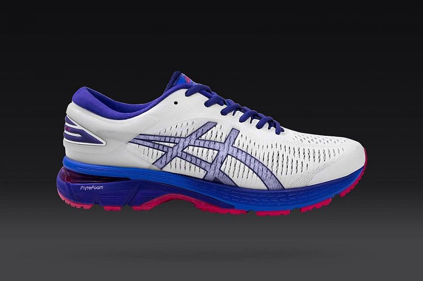 Asics Gel Kayano 25: Ideal for runners with flat feet or low