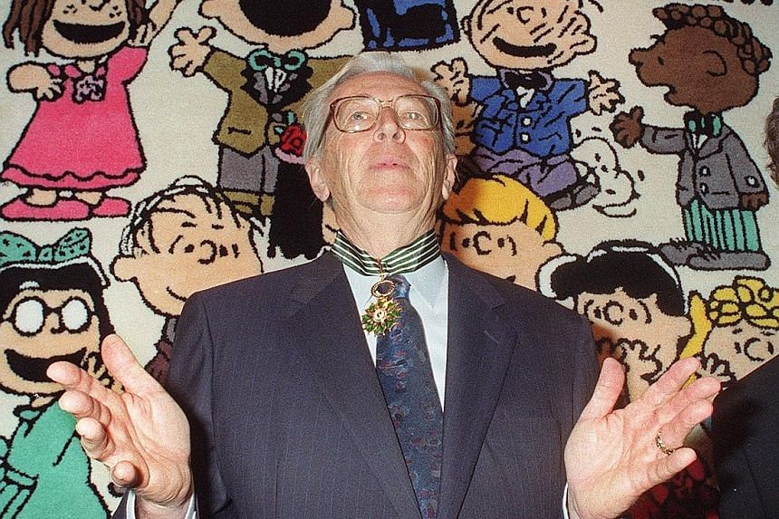 Peanuts creator Charles Schulz introduced African-American boy Franklin to the comic strip in July 1968.