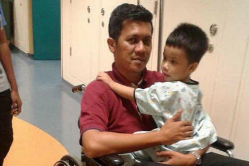 Nur Alam Shah, 38, died of a heart attack in his sleep on May 18, 2018. He had been trying to raise $120,000 through the Give.Asia online platform to cover the medical expenses of his son Muhammad Royyan, who turns five this year.