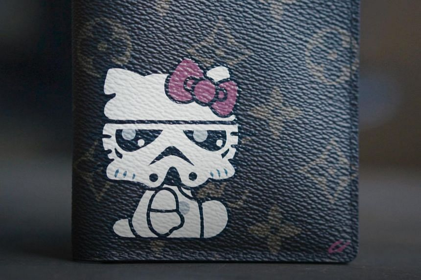 Cherin Sim puts her spin on the pop-culture favourites she paints on pricey leather goods, turning them into priceless personal pieces for her clients.