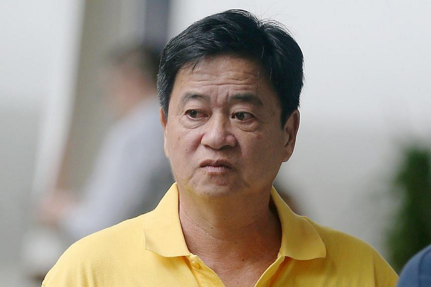 A court heard that Ng Chye Joo (pictured) had not been paying full attention when he piled into Mr Ng Kok Siang, 91, who later died in hospital.
