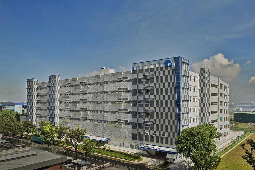 JTC Food Hub @ Senoko, a food factory facility with 50 units for lease.