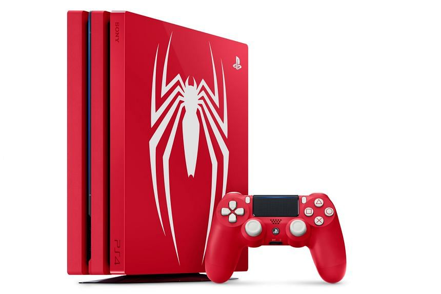 Sony PlayStation 4 Pro Marvel's Spider-Man Limited Edition