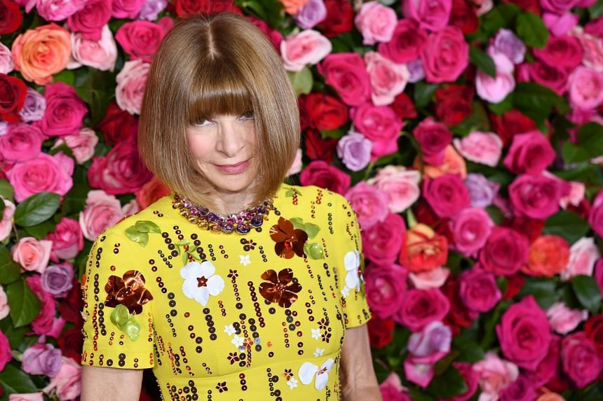 Anna Wintour at the 2018 Tony Awards on June 10, 2018.