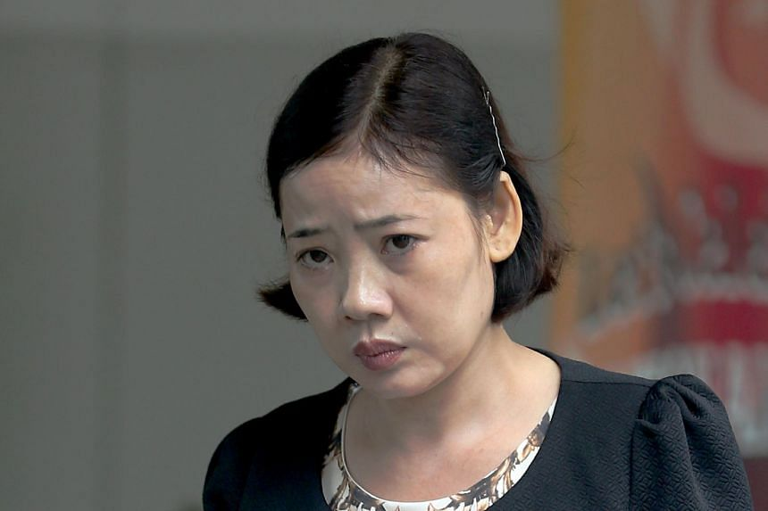 Tran Thi Thuy Hang opened the pet bird's cage and bludgeoned it to death with a bamboo pole before tossing it down a rubbish chute.