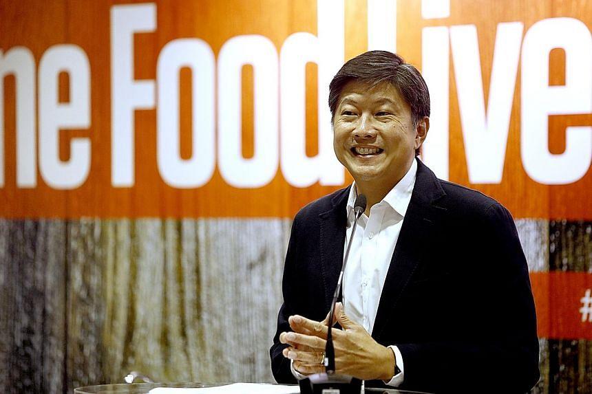 Mr Ng Chee Meng.