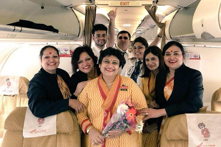 Air hostess Pooja Chinchankar's retirement wish was to have her daughter pilot her last flight as cabin crew.