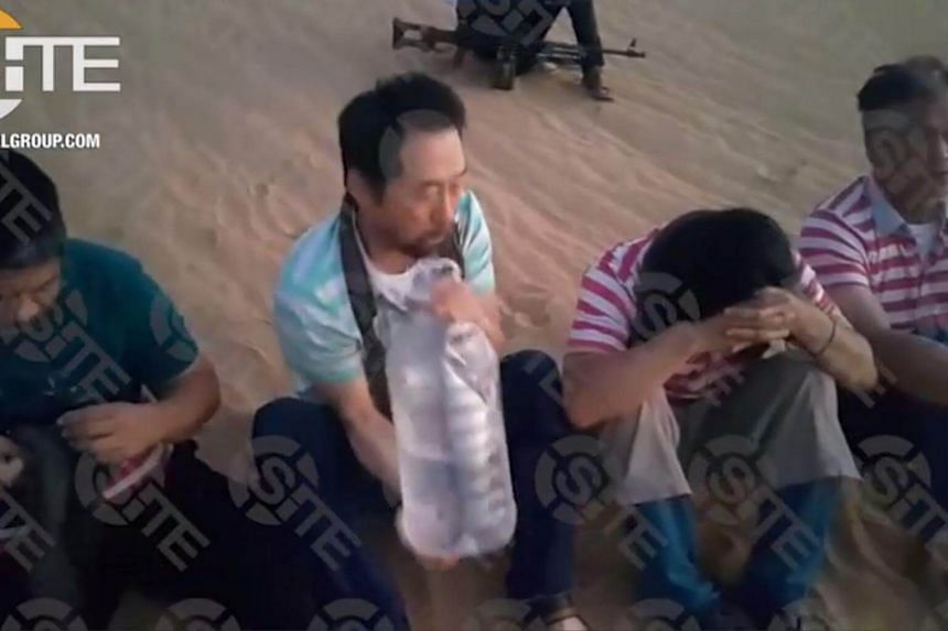 The three Filipino engineers and a South Korean were abducted in an attack on a water project site in western Libya, on July 6, 2018.