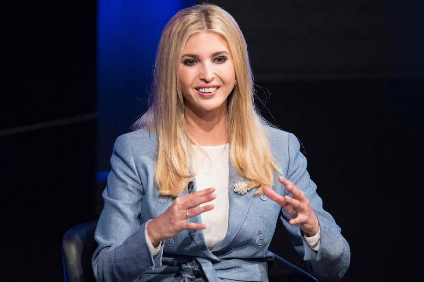 US President Special advisor and daughter Ivanka Trump participates in a conversation on workforce development and news of the day at the Newseum in Washington, on Aug 2, 2018.
