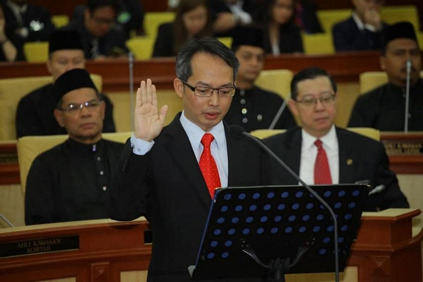 Datuk Law Choo Kiang was nominated by Chief Minister Chow Kon Yeow and seconded by Deputy Chief Minister I Datuk Ahmad Zakiyuddin Abdul Rahman when the assembly convened for the swearing-in of its members.