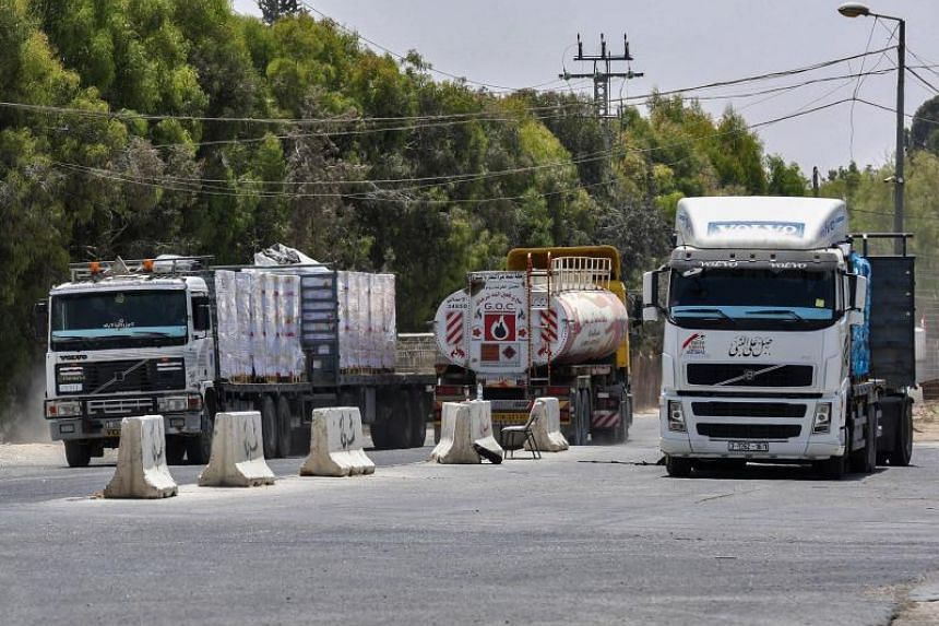 Israel already imposed a blockade on fuel deliveries to Gaza on July 17, but lifted it a week later in response to a reduction in the number of kites and balloons carrying firebombs into Israeli territory.