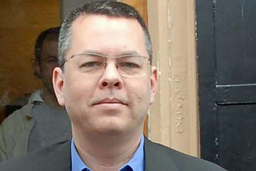 Pastor Andrew Brunson photographed in Izmir, Turkey, in March 2018.