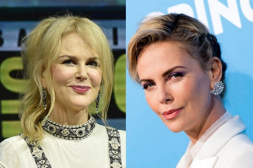 Kidman (left) and Theron will lead an all-star cast.