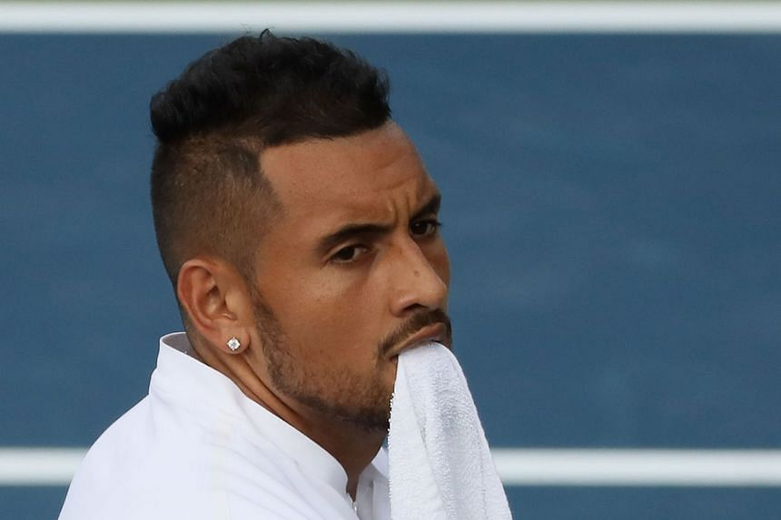Kyrgios, 23, also retired from a quarter-final at the Atlanta Open due to the hip injury.