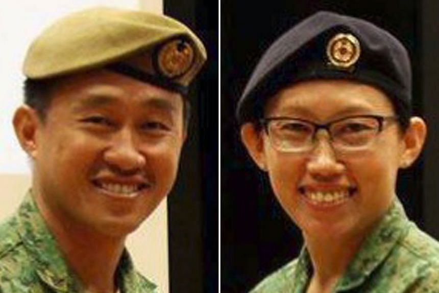 Mr Clifford Keong and Ms Lee Yem Choo, both former SAF colonels, have taken on human resource positions with the rail operator.
