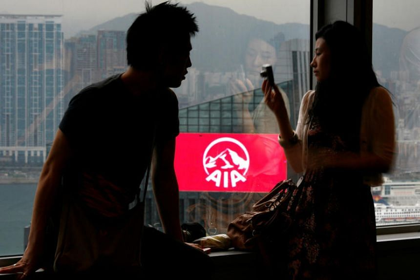 AIA Group, a Hong Kong-listed insurer, reported a 20 per cent rise in new business in its first quarter, fuelled by demand for insurance products in mainland China and Hong Kong.