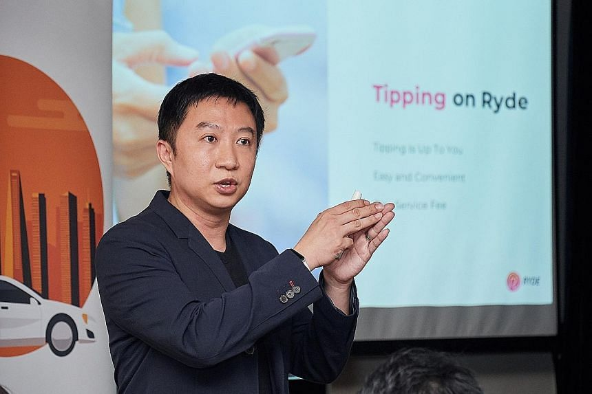 """Ryde founder and CEO Terence Zou says the app's move to offer dynamic pricing for taxis is """"more efficient as it better incentivises supply to match demand during peak periods"""