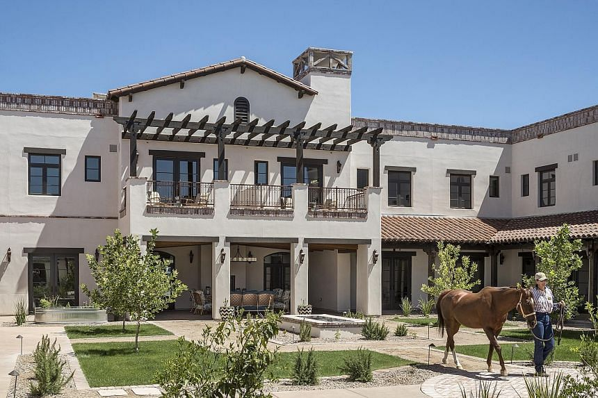The Hacienda at the River in Tucson, Arizona, one of the 52 senior housing communities managed by Watermark.