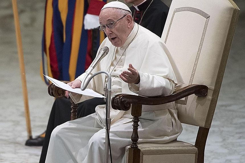 """Citing an address by Pope Francis, the new entry in the catechism says """"the death penalty is inadmissible because it is an attack on the inviolability and dignity of the person""""."""