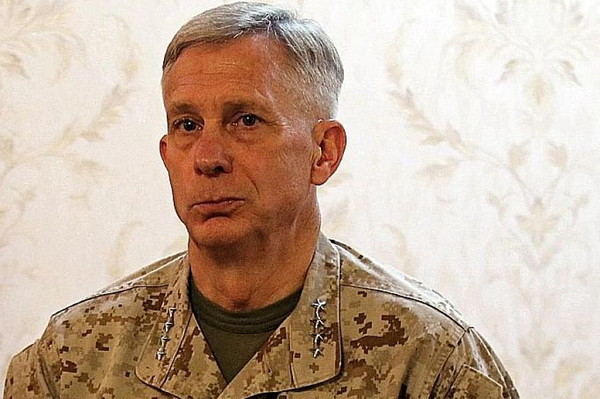 General Thomas Waldhauser said the Africa Command that he heads was the first to be asked to submit a drawdown plan.