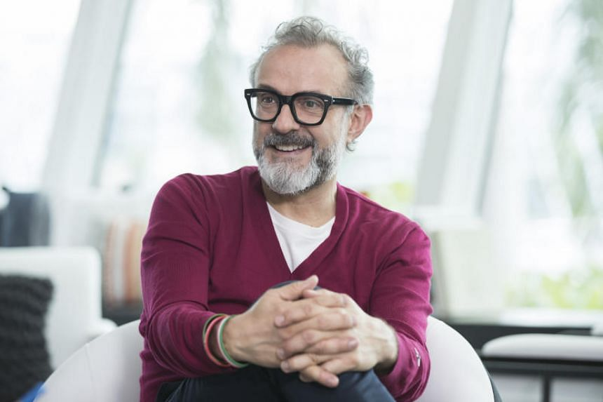 Italian chef Massimo Bottura believes he can set an example for younger chefs to follow.
