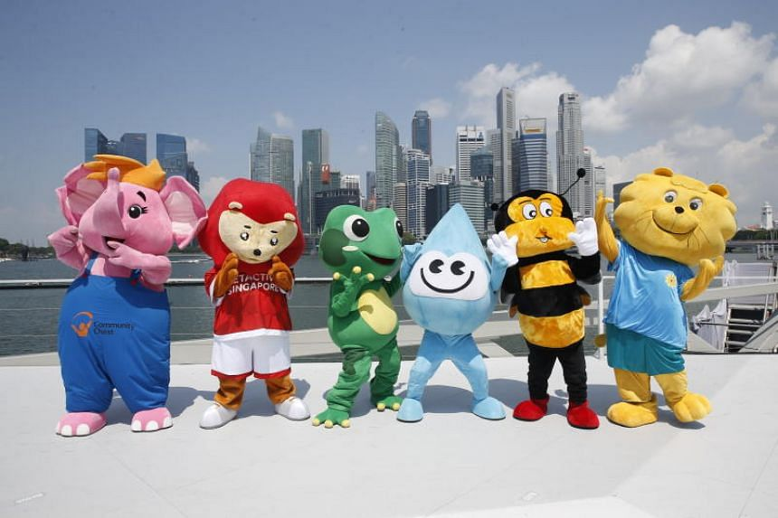 These Singapore mascots will appear in the pre-parade segment, and join other performers to take the National Pledge at the end of the parade on Aug 9.