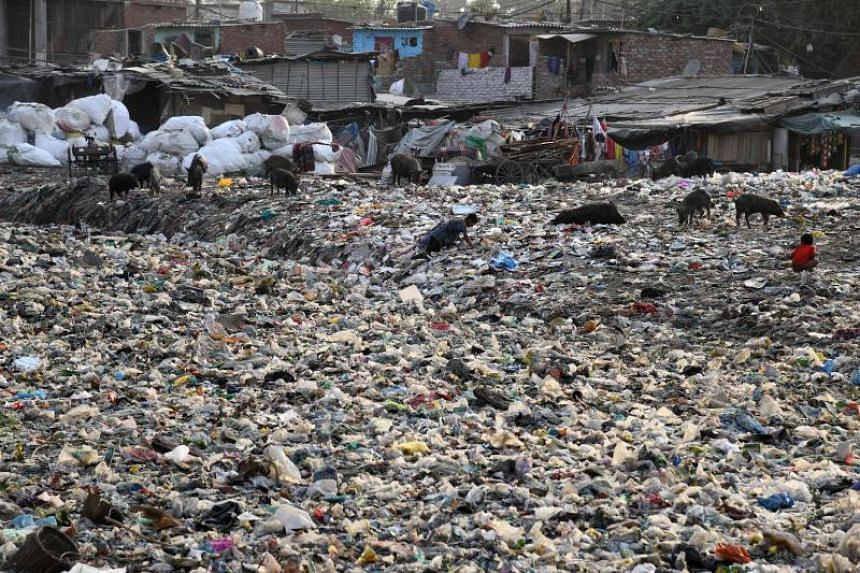 Disposal of plastic waste is a global problem and innovative ways such using discarded plastic to build roads are being implemented in several cities across India.