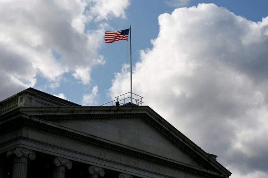 The US Treasury Department in Washington in a file photo taken in 2008.
