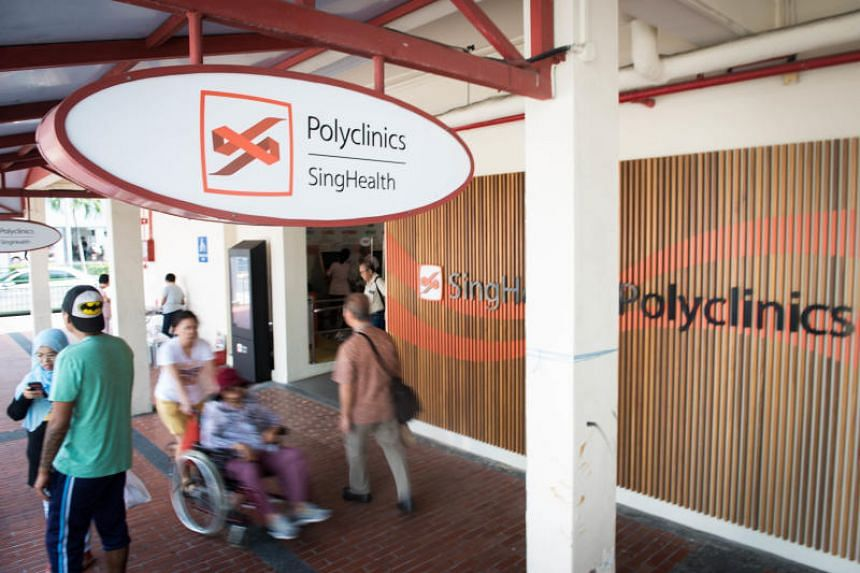 SingHealth Polyclinic at Marine Parade on July 24, 2018.