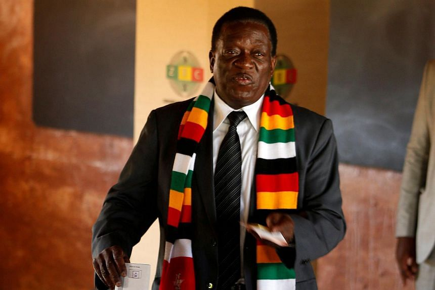 Nicknamed The Crocodile Emmerson Mnangagwa Secured A Narrow Victory In Zimbabwes Historic First