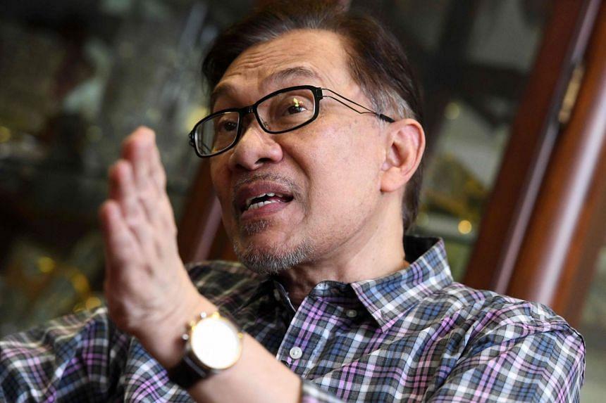 Datuk Seri Anwar Ibrahim is running for the president's post in the Parti Keadilan Rakyat polls.