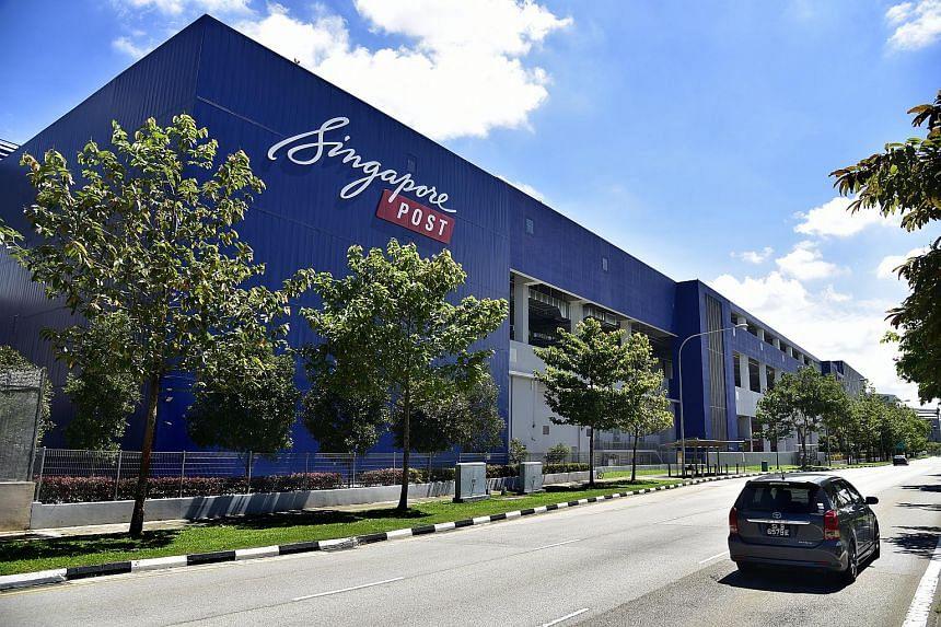 SingPost's Regional eCommerce Logistics Hub in Greenwich Drive opened in 2016.