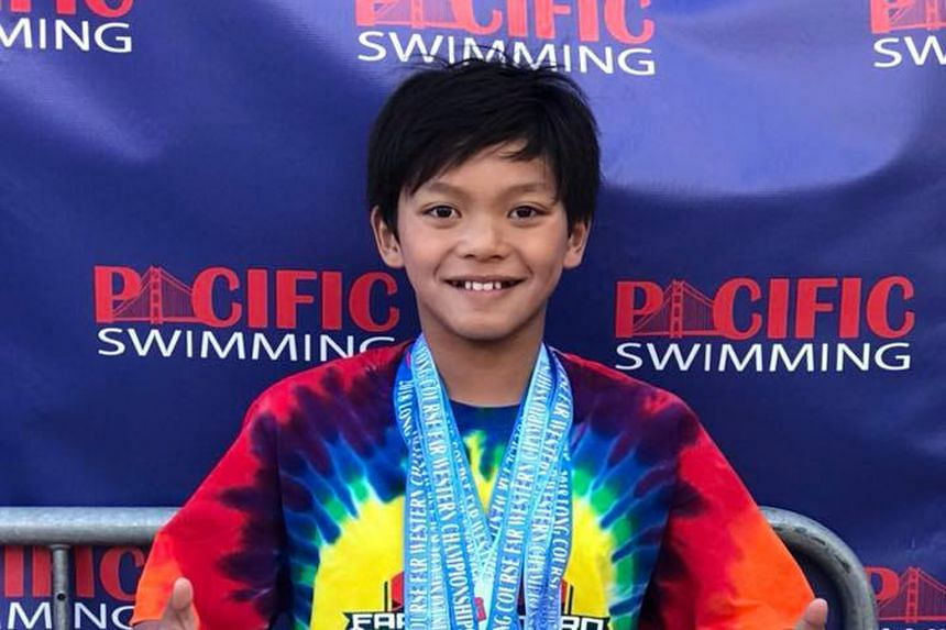 Clark Kent Apuada broke Michael Phelps' 100m butterfly 10-and-under meet record set at the Far Western International Age Group Championships in 1995. The 10-year-old Clark won all seven events he competed in.
