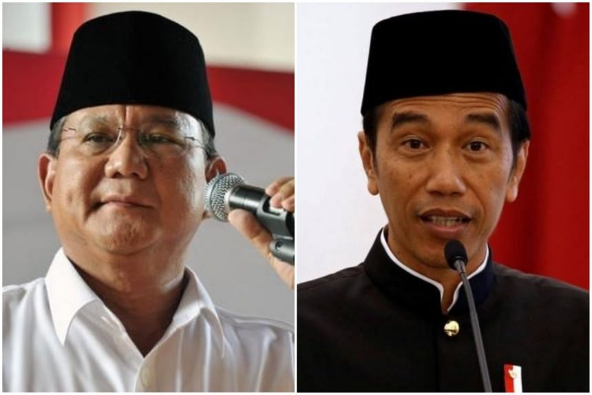 Indonesia's upcoming presidential election, which is expected to be a two-way fight between Gerindra Party chief Prabowo Subianto (left) and President Joko Widodo, may see a third alliance emerge.