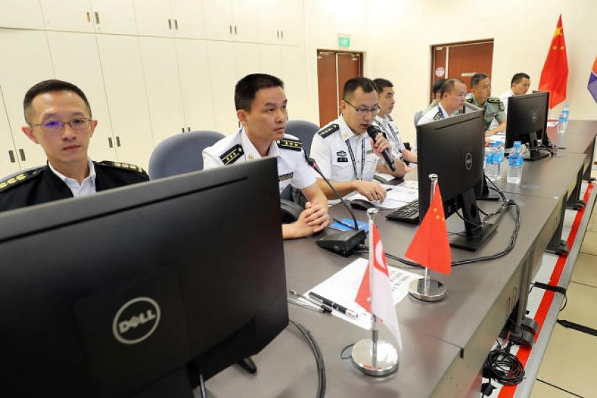 The two-day table-top exercise was hosted by the Republic of Singapore Navy (RSN) at the Multinational Operations and Exercises Centre at the RSS Singapura - Changi Naval Base.