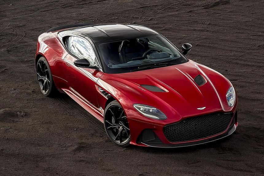 The DBS Superleggera is fluid and confident in the way it moves, even with maximum power.