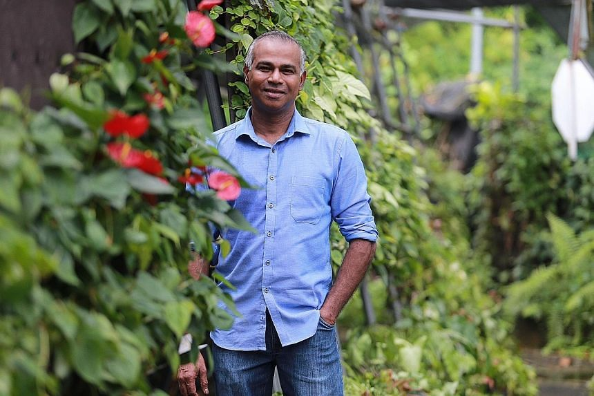 Mr Veera Sekaran, who was five when his father died, said his mother worked as a nanny to raise a family of nine kids. He worked part-time and graduated from NUS after getting help from a benefactor. He now pays back to society by hiring ex-convicts