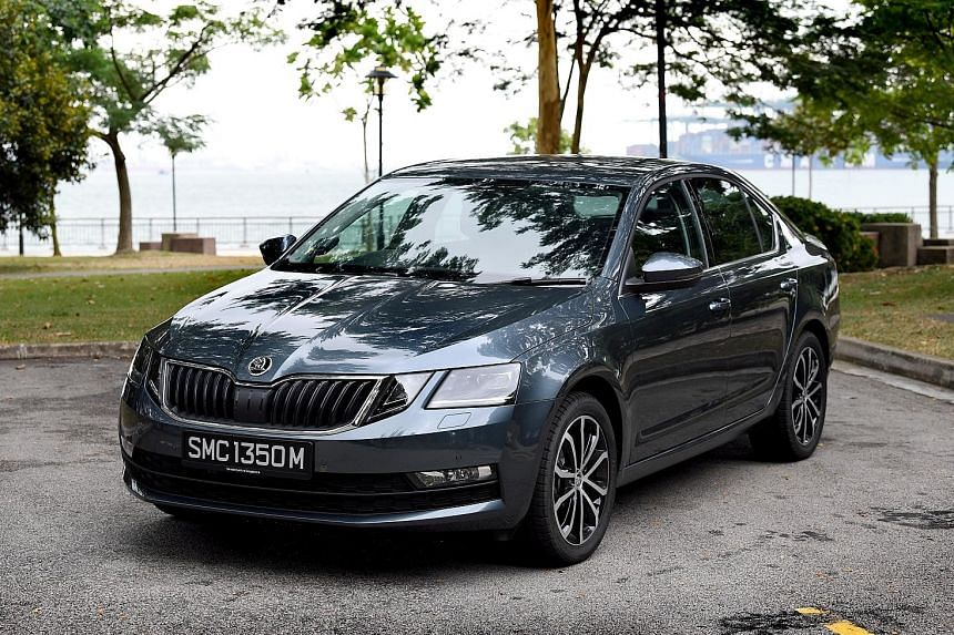 The Octavia's interior is roomy and passengers are likely to approve of the car's comfort-biased suspension.