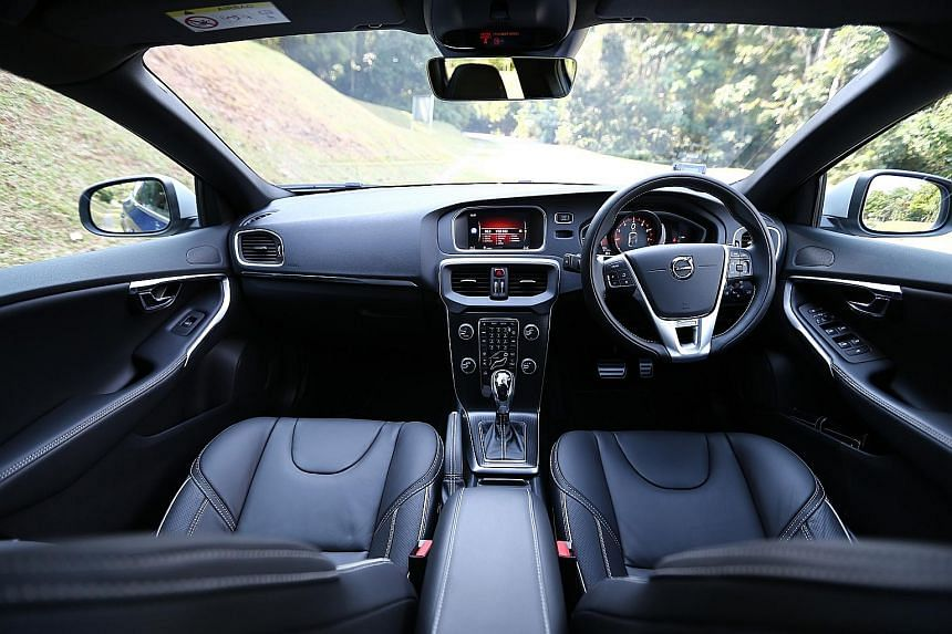 Drive the Volvo V40 T4 with concentration and conviction and the car will reward you with a sports car-rivalling performance.