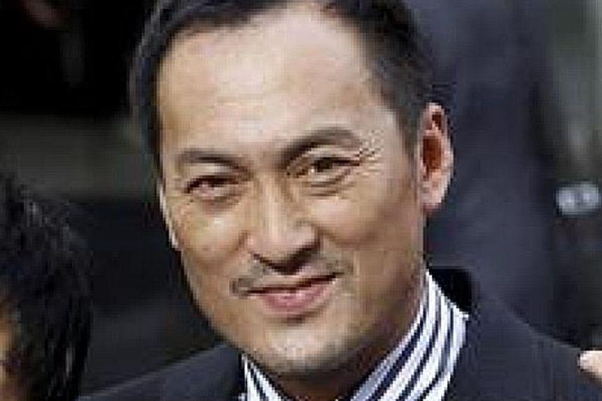 Actor Ken Watanabe.
