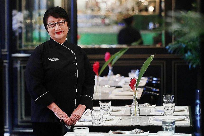 Chef and restaurateur Violet Oon will offer British food interpreted by Hainanese chefs at her new eatery in Ion Orchard.