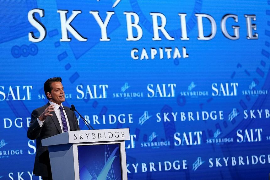 Giant Chinese conglomerate HNA had tried to buy New York investment firm SkyBridge Capital, whose co-founder Anthony Scaramucci (above) was eager to complete the deal. But in late April, HNA scrapped its bid for SkyBridge Capital. Both companies real