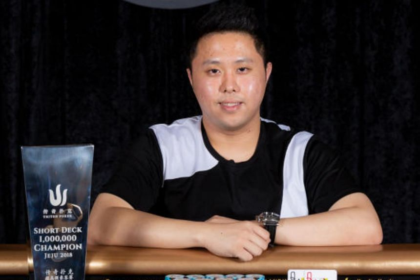 Kenneth Kee caused a stir recently when he won HK$22.5 million (S$3.9 million) at a tournament in Jeju, South Korea.