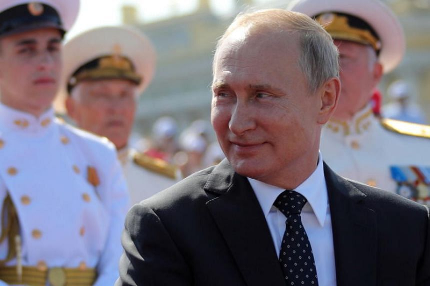 Russian President Vladimir Putin's power appears to be on the march, but the shrinking geopolitical reach of Moscow is proving a historic setback for him.