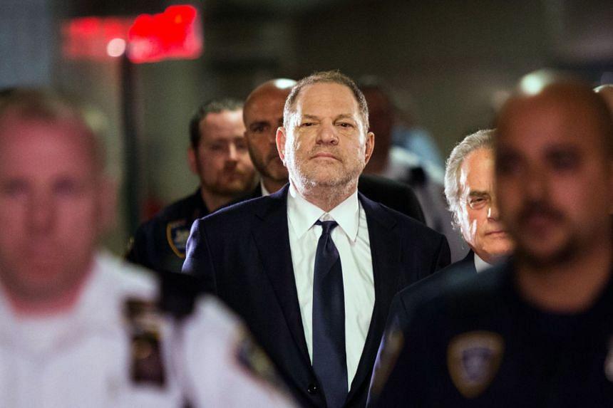 Weinstein entering Manhattan criminal court in New York in June 2018.